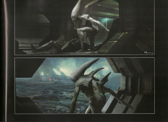 Prometheus don t reanimate a dead maker s head just for Prometheus xenomorph mural