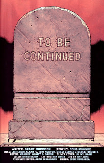 "Superman wrote these words on his tombstone in the Limbo world between life and death in ""Final Crisis"""